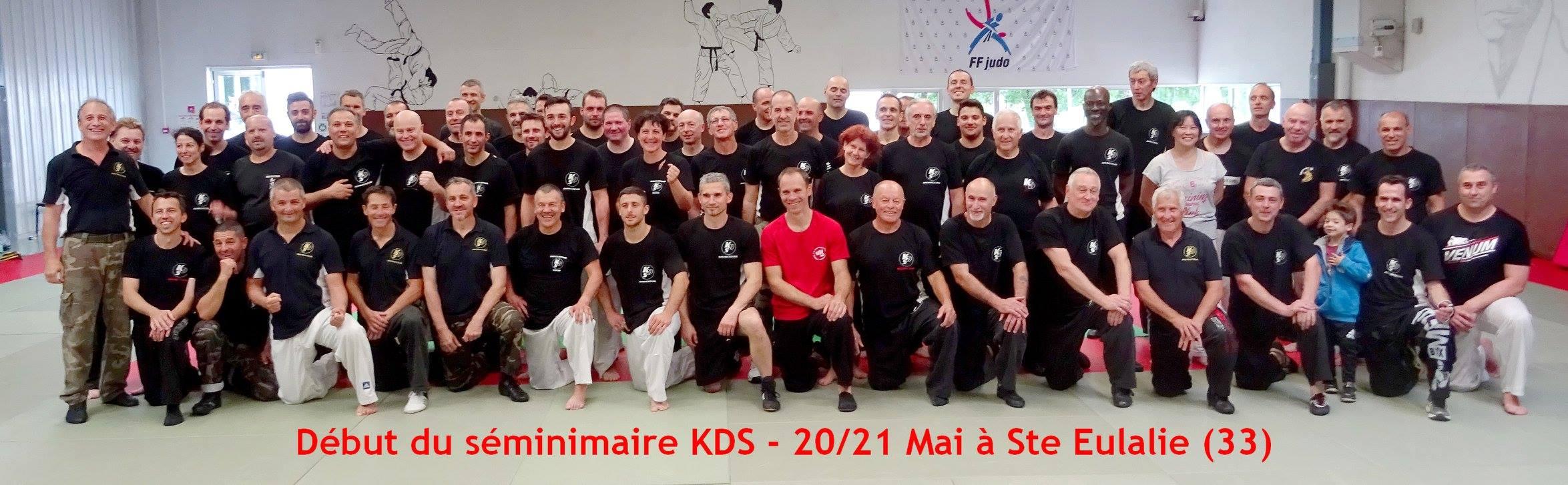 7° SEMINAIRE KDS 2017 –  20 et 21 Mai à Ste Eulalie (33) :