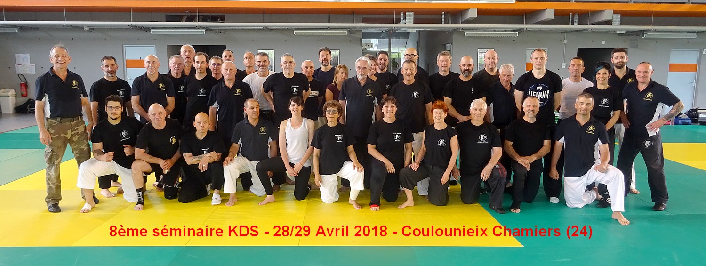 8° SEMINAIRE KDS 28 ET 29/04/2018 A COULOUNIEIX CHAMIERS (24)