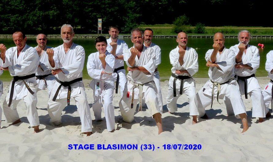 STAGE A BLASIMON (33) LE 18/07/2020