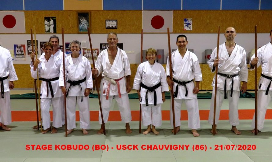 STAGE A CHAUVIGNY (86) LE 21/07/2020