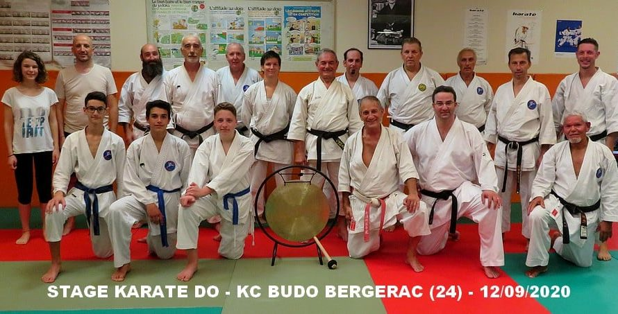 STAGE A BERGERAC (24) LE 13/09/2020