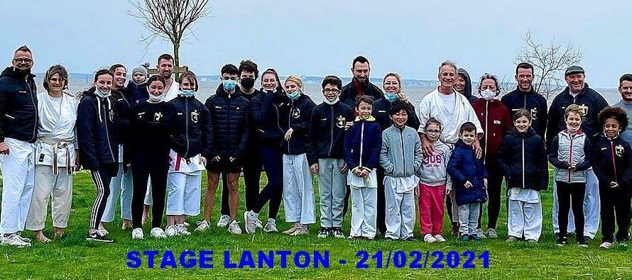 STAGE A LANTON (33) LE 21/02/2021