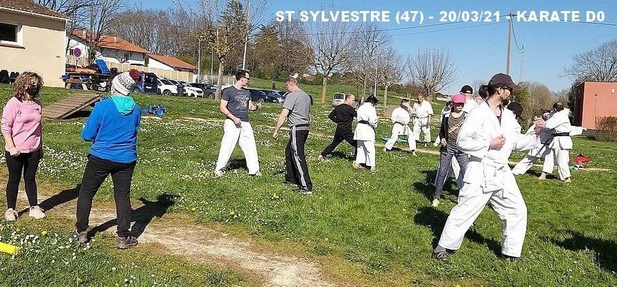 STAGE A ST SYLVESTRE/LOT (47) LE 20/03/2021