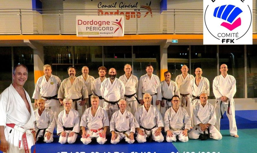 STAGE COULOUNIEIX CHAMIERS (24) LE 21/09/2021