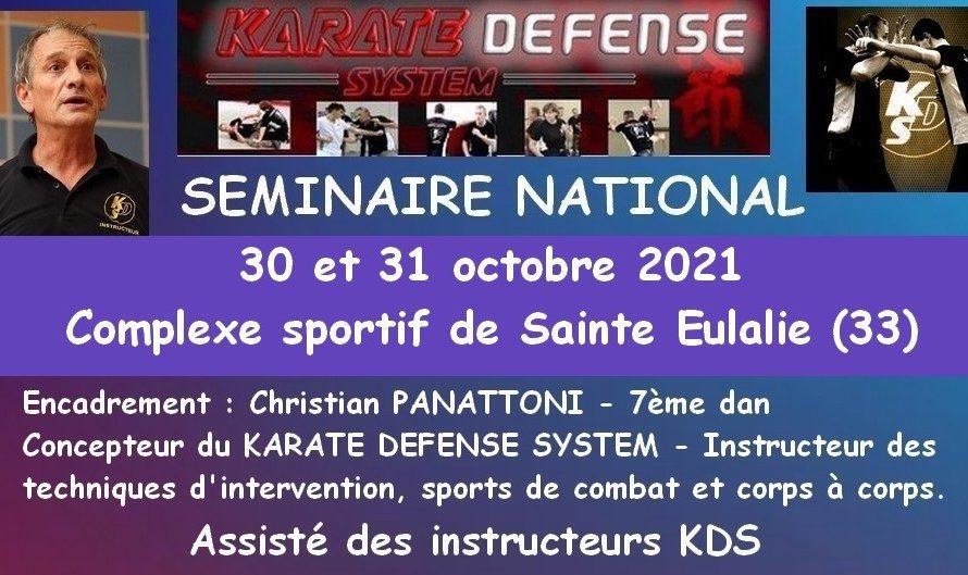 SEMINAIRE KDS 30 ET 31/10/2021 A STE EULALIE (33)