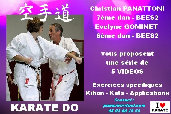 OFFRE LOT 5 VIDEOS KARATE DO