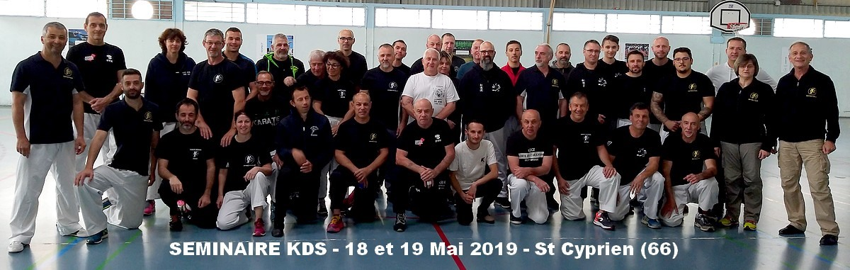 9°SEMINAIRE KDS ST CYPRIEN (66) MAI 2019