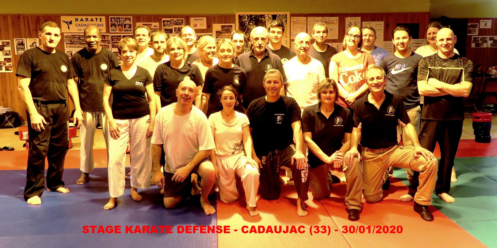 STAGE A CADAUJAC (33) LE 30/01/2020