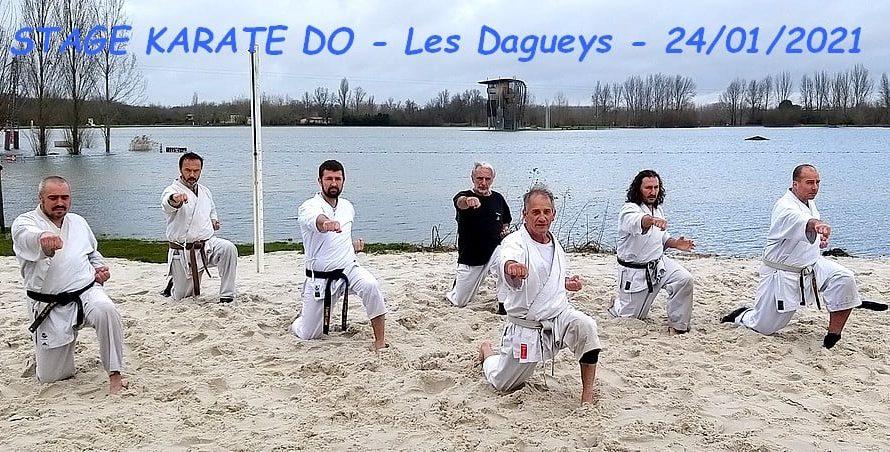 STAGE LE 31/01/2021 AU PLAN D'EAU DES DAGUEYS (33)