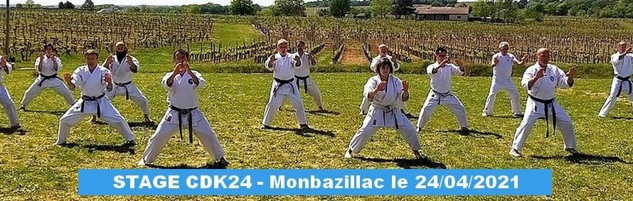 STAGE A MONBAZILLAC (24) le 24/04/2021